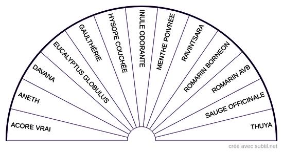 Huiles essentielles - 6ème Chakra