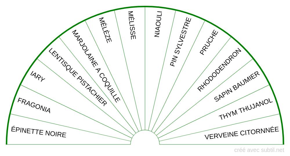 Huiles essentielles - 4ème Chakra
