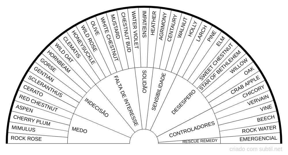 38 Florais de Bach + Emergencial