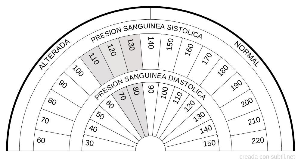 Presión Sanguínea Sistólica y Diastólica