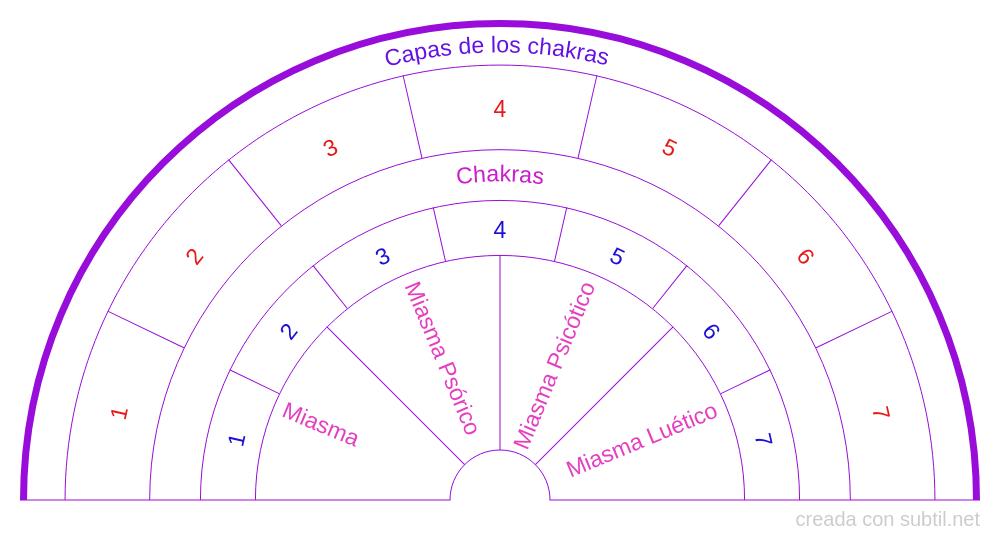 Miasmas en los chakras
