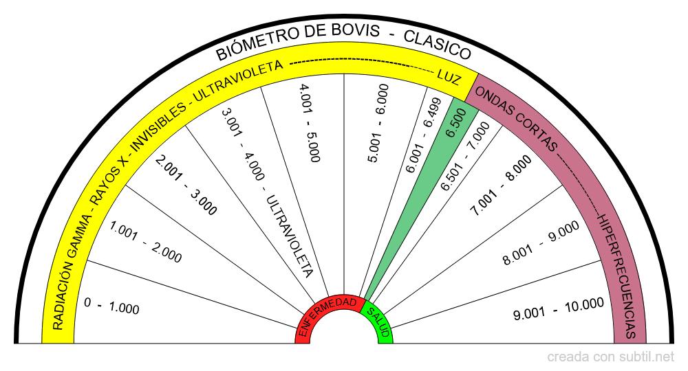 Biómetro de Bovis  - Clásico