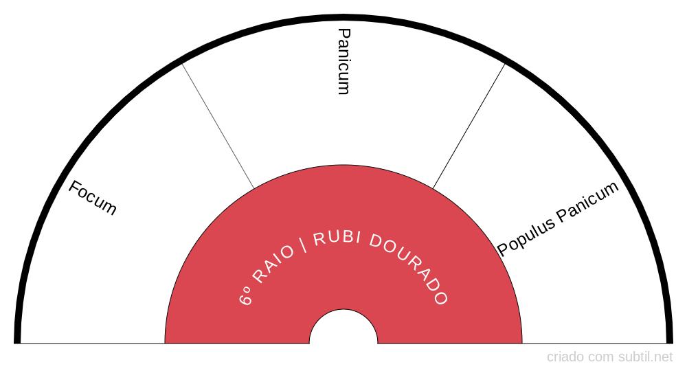 6º RAIO RUBI DOURADO