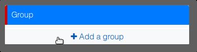 Aggiungere un gruppo